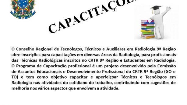 curso capacitacao crtr9